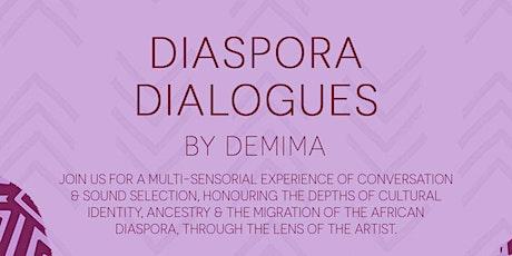 Diaspora Dialogues - ALXNDR London 19/10/21 tickets