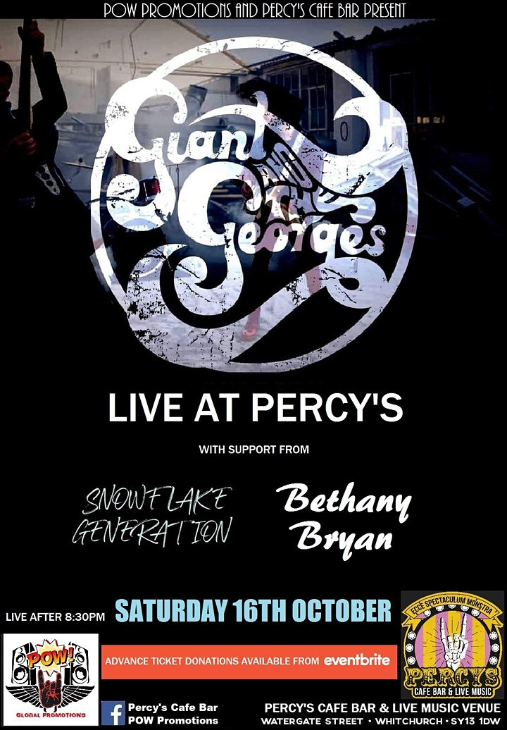 Giant and the Georges with support Snowflake Generation + Bethany Bryan image