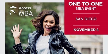 Access MBA Tour in San Diego (in-person) tickets