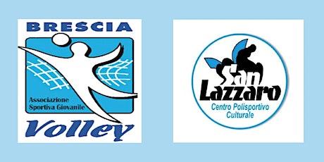 ASGD Brescia Volley Vs CPC San Lazzaro PG biglietti
