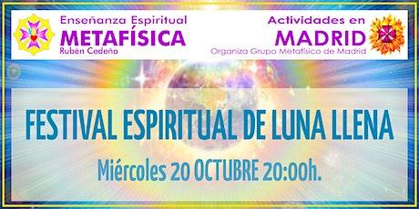 Festival Espiritual de Luna Llena tickets