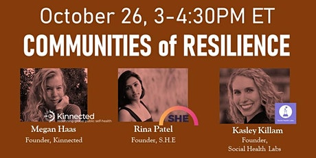 InnovationX: Communities of Resilience tickets