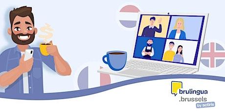 Café-langues virtuel - Intermédiaire/avancé (EN) tickets