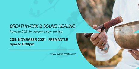 Full moon breathwork with sound healing @Fremantle, 20th november 2021, 3pm tickets