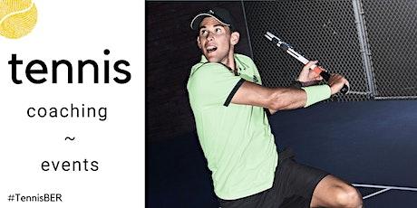Tennis Coaching : Sunday Evening : Indoor tickets