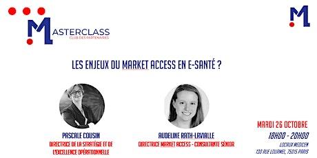 MASTERCLASS - Strategiqual : Les enjeux du Market Access en e-santé billets