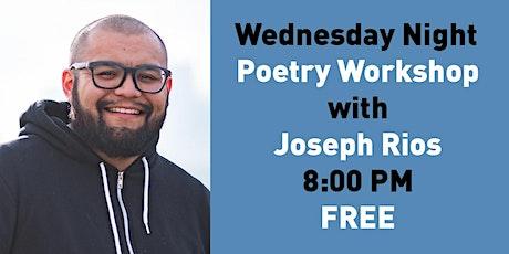 Wednesday Night Poetry Workshop tickets