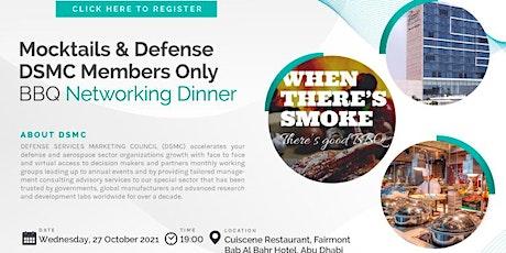 DSMC Mocktails & Defense | Member Dinner tickets