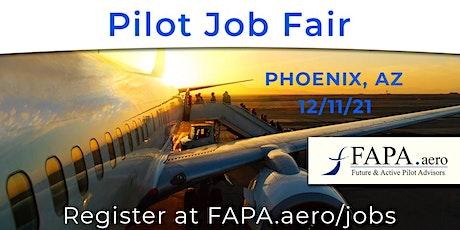 FAPA Pilot Job Fair, Phoenix, AZ, December 11, 2021 tickets