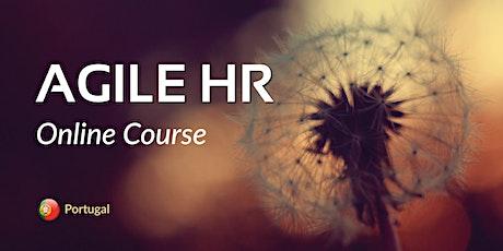 Agile HR Online Course - Portugal bilhetes