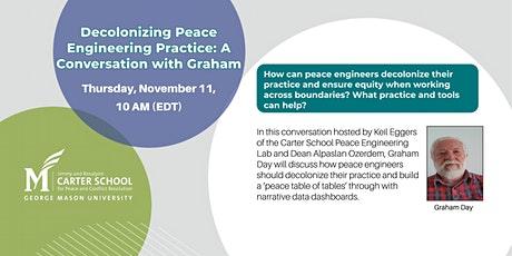 Decolonizing Peace Engineering Practice tickets
