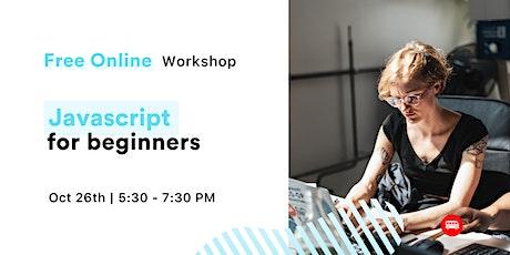 [FREE Workshop] JavaScript for Beginners tickets