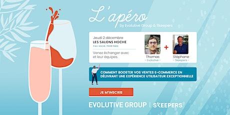 Apéro by Evolutive Group x Skeepers à Paris tickets