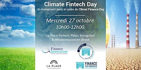 Climate Fintech Day billets