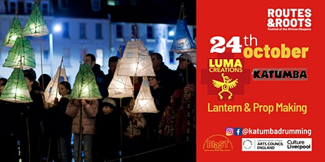 Routes & Roots Festival: FREE Halloween Carnival Lantern Making Workshop tickets