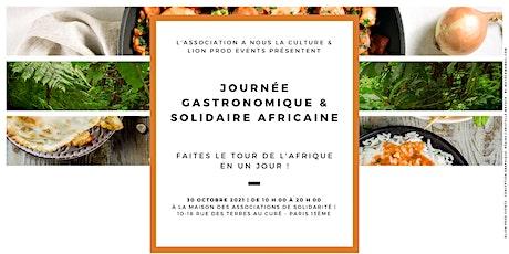 Journée gastronomique et solidaire africaine billets
