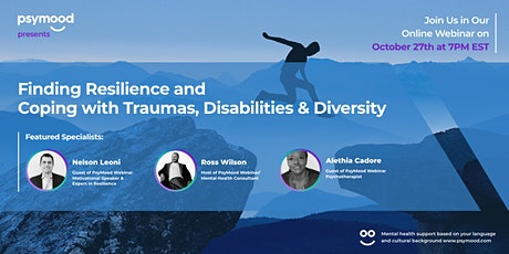 Finding resilience and coping with traumas, disabilities and diversity tickets