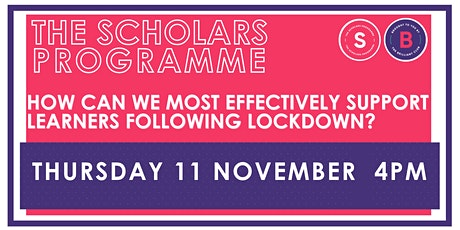 The Science of Learning: How do we best support our learners post-lockdown? tickets