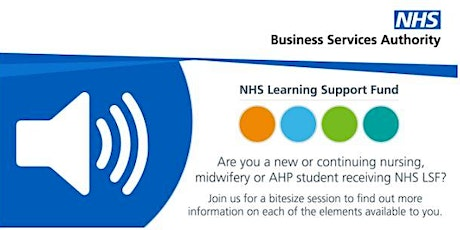 NHS LSF student bitesize sessions tickets