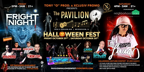 THE PAVILION HALLOWEEN FEST tickets