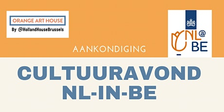 CULTUURAVOND NL-IN-BE tickets