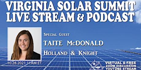 Virginia Solar Summit Live Stream #3 tickets