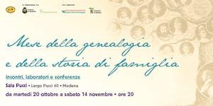 """VI Conferenza Internazionale di Genealogia """"L'ultimo..."""