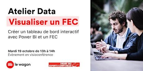 Visualiser les données d'un FEC avec Power BI billets