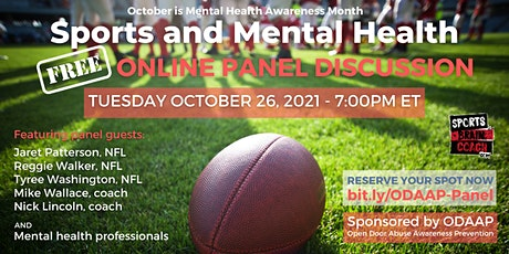 Sports and Mental Health - A Panel Discussion tickets
