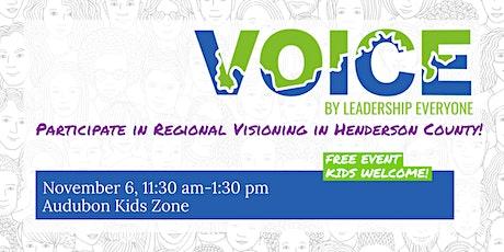 VOICE Session at Audubon Kids Zone tickets