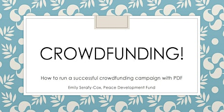 Crowdfunding and Giving Tuesday tickets