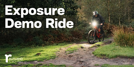 Exposure Demo Night Ride - Rutland Cycling, Whitwell tickets