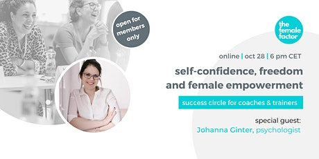 success circle for coaches & trainers   self-confidence & freedom tickets
