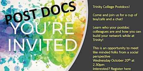 Trinity College Dublin Postdoc social meet-up (Wed Oct 2.30pm 2021) tickets