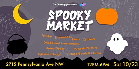 SPOOKY SUNDAY MARKET at Bad Candy tickets