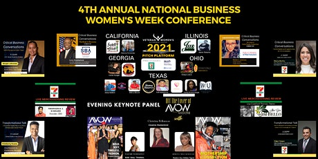 VWEC 4th Annual National Business Women's Week Conference & Pitch Platform tickets