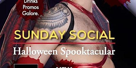 Sunday Social Halloween Special @ The Grand Social tickets