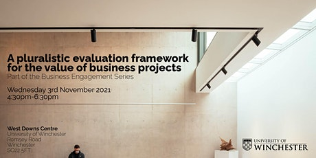 A Pluralistic Evaluation Framework for the Value of Business Projects tickets