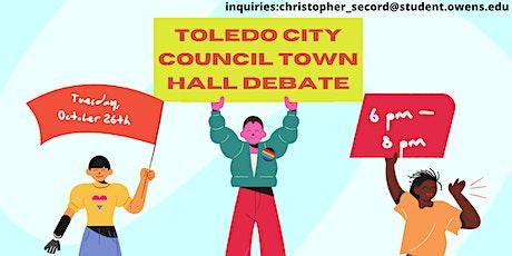 Toledo City Council Town Hall Debate tickets