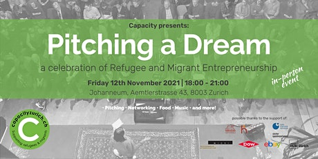 Pitching a Dream | A celebration of Refugee and Migrant Entrepreneurship tickets
