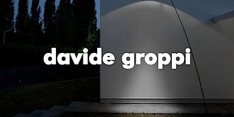 Lanzamiento Davide Groppi entradas