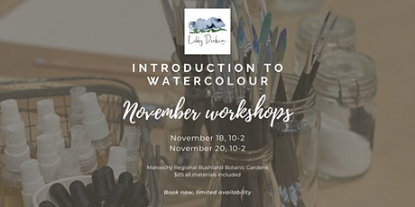 Introduction to Watercolour Workshop tickets