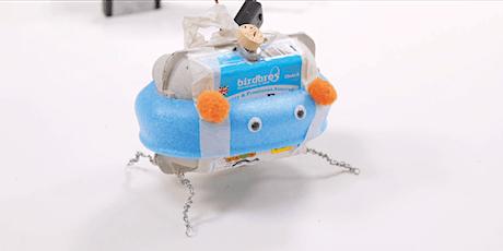 Prototyping Junk Bots for KS1 & 2 Tickets