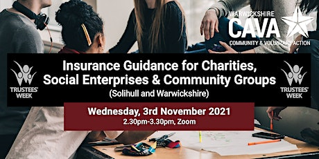 Insurance Guidance for Charities, Social Enterprises and Community Groups tickets