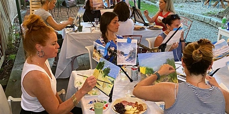 Sip-N-Paint: Autumn In The Garden With Local Artist Kendall Klingbeil tickets