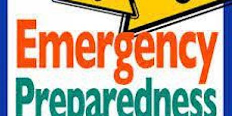 Emergency Preparedness Workshop Virtual tickets
