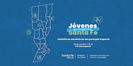 Jóvenes que transforman Santa Fe entradas