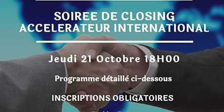 Soirée de Closing | Accélérateur International billets
