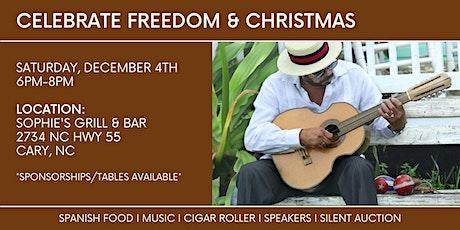 Celebrate Freedom & Christmas tickets