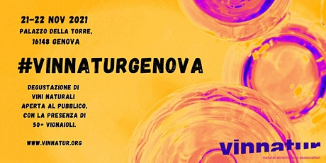 VinNatur Genova 2021 biglietti